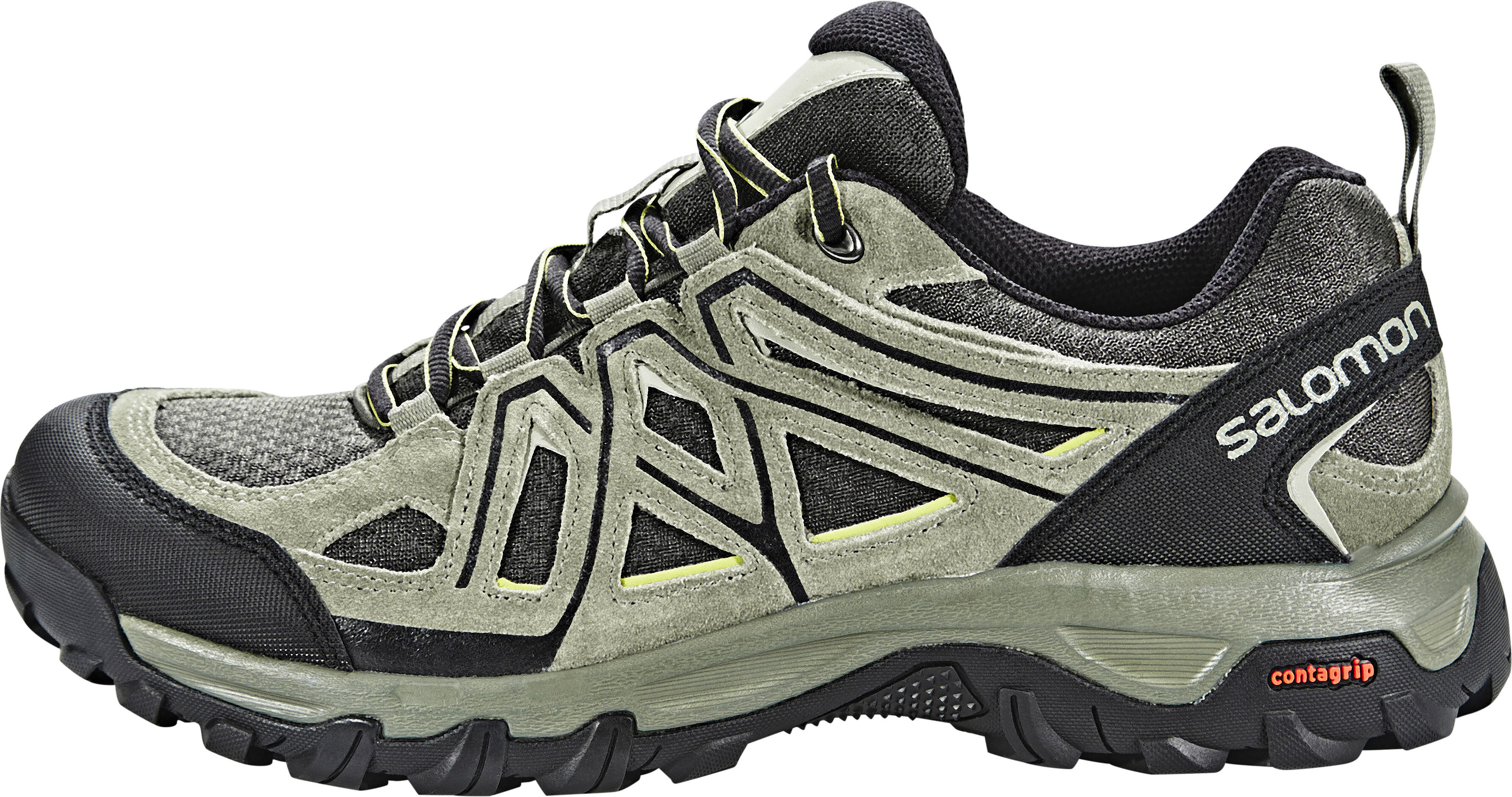 4c54ed11613 Salomon Evasion 2 Aero Hiking Shoes Men castor gray/beluga/fern